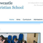 Newcastle Christian School: Header