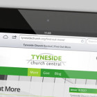 Responsive Church Website Design - iPad