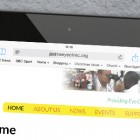 Charity Web Design: iPad
