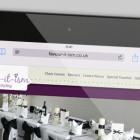 Responsive Business Website - Tablet