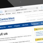 Non Profit Responsive Website: iPad