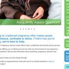 Responsive Design Website - Screengrab